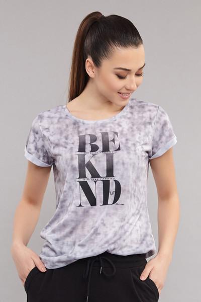 BİLCEE - Bilcee Kadın Pamuk/Poly T-Shirt ES-3592