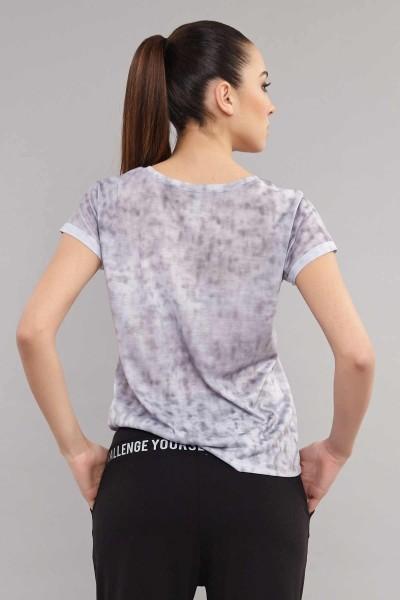 BİLCEE - Bilcee Pamuk/Poly Kadın T-Shirt ES-3592 (1)