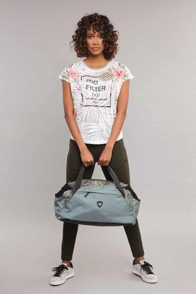 BİLCEE - Bilcee Kadın Pamuk/Poly T-Shirt ES-3603 (1)