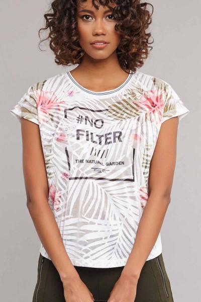 BİLCEE - Bilcee Kadın Pamuk/Poly T-Shirt ES-3603