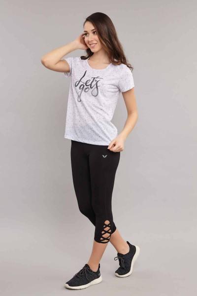 BİLCEE - Bilcee Kadın Antrenman T-Shirt ES-3619 (1)