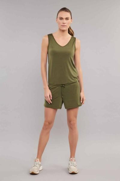 BİLCEE - Bilcee Yeşil Kadın Tulum ES-3635