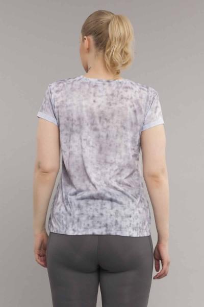 BİLCEE - Bilcee Gri Büyük Beden Kadın Antrenman T-Shirt ES-3636 (1)