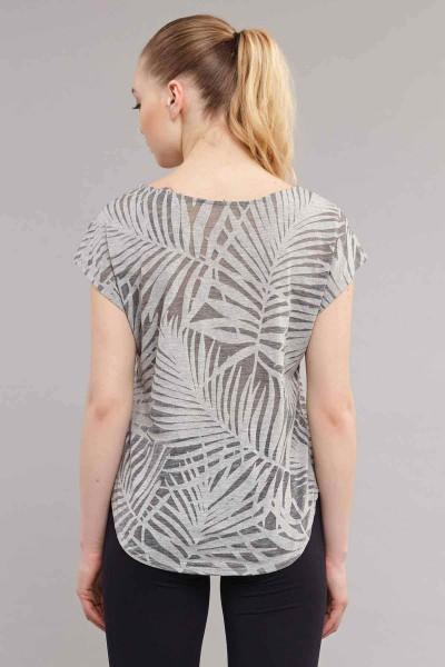 BİLCEE - Bilcee Kadın Pamuk/Poly T-Shirt ES-3639 (1)