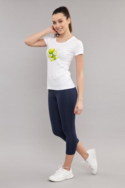 BİLCEE - Bilcee Beyaz Kadın T-Shirt ES-3701 (1)