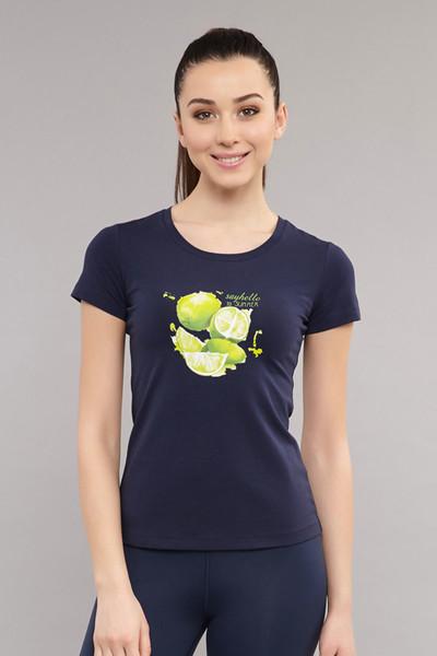 BİLCEE - Bilcee Kadın Likralı Pamuklu T-Shirt ES-3701