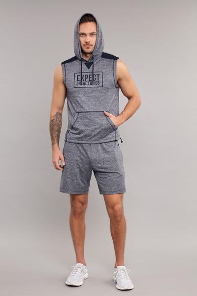 BİLCEE - Bilcee Gri Erkek Sweatshirt ES-3800 (1)