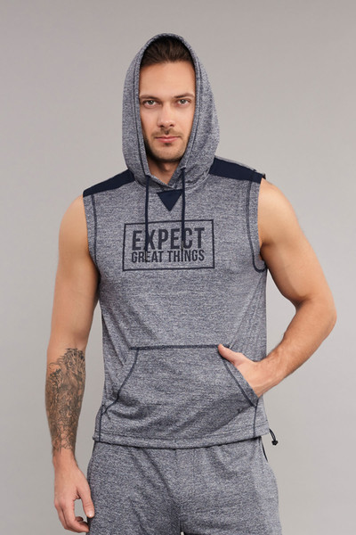 BİLCEE - Bilcee Gri Erkek Sweatshirt ES-3800