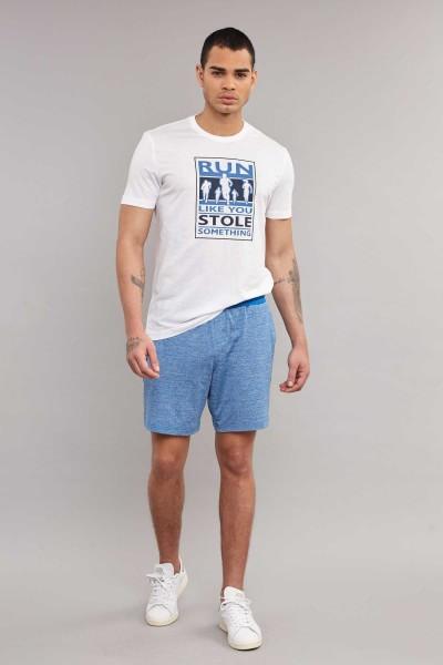 BİLCEE - Bilcee Beyaz Pamuklu Erkek T-Shirt ES-3806 (1)