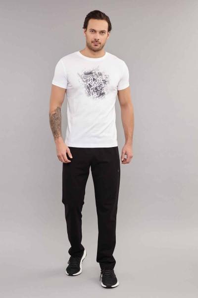 BİLCEE - Bilcee Erkek Likralı Pamuklu T-Shirt ES-3840 (1)