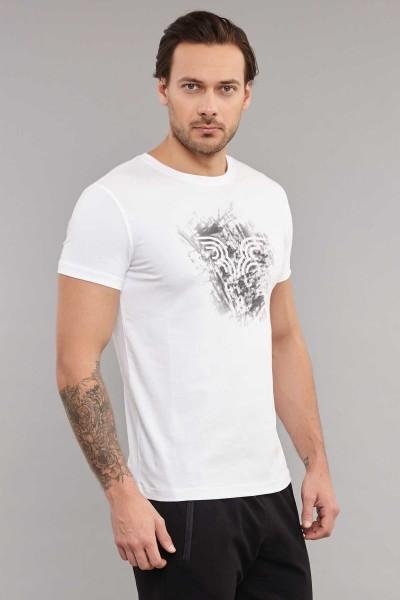 BİLCEE - Bilcee Erkek Likralı Pamuklu T-Shirt ES-3840