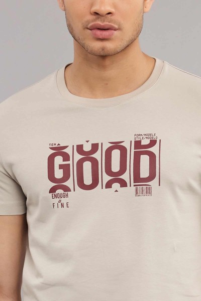 BİLCEE - Bilcee Pamuklu Erkek T-Shirt ES-3841 (1)