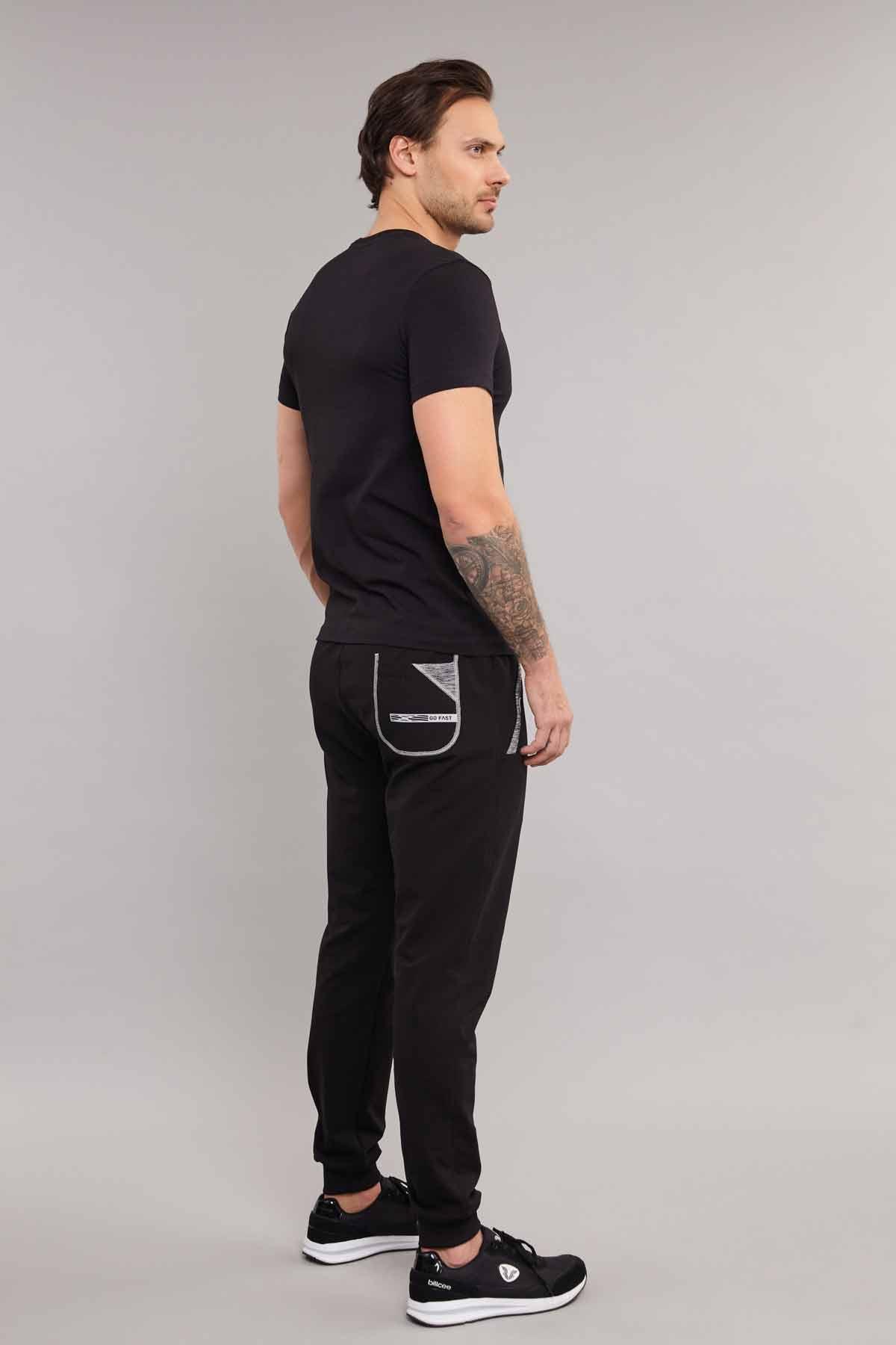 Bilcee Pamuklu Erkek T-Shirt ES-3841 BİLCEE