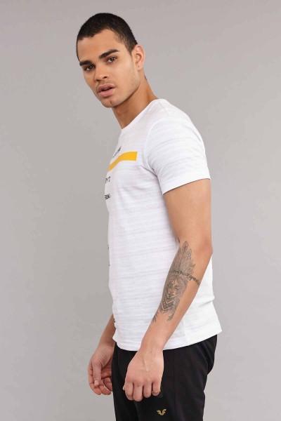 BİLCEE - Bilcee Beyaz Pamuklu Erkek T-Shirt ES-3875 (1)