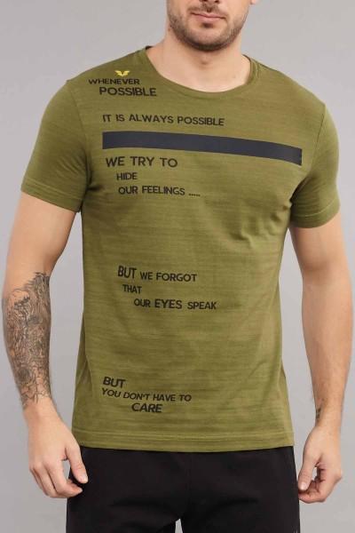 BİLCEE - Bilcee Erkek Pamuklu T-Shirt ES-3875