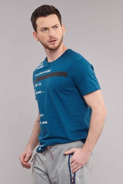BİLCEE - Bilcee Erkek Pamuklu T-Shirt ES-3875 (1)