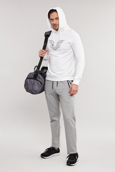 BİLCEE - Bilcee Beyaz Erkek Sweatshirt ES-3877 (1)