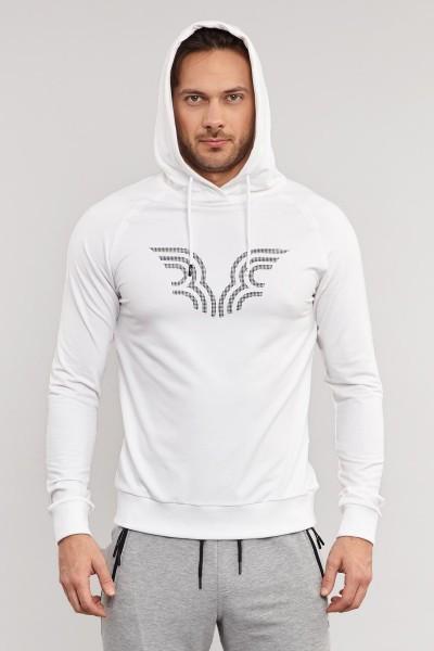 BİLCEE - Bilcee Beyaz Erkek Sweatshirt ES-3877