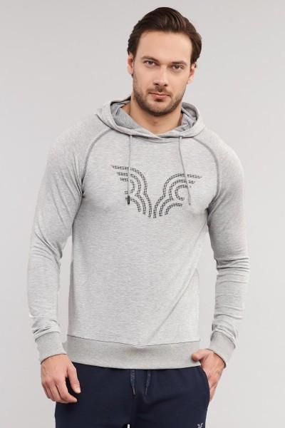 BİLCEE - Bilcee Gri Erkek Sweatshirt ES-3877