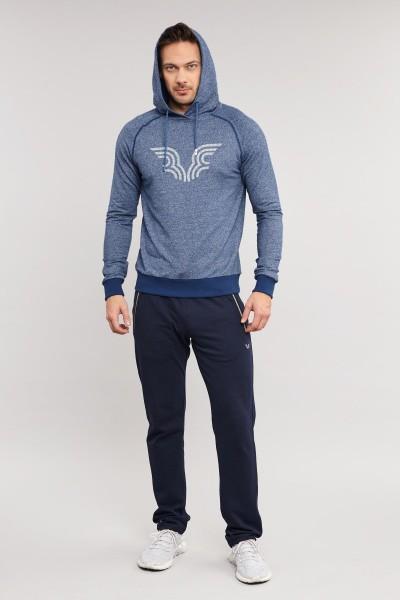 BİLCEE - Bilcee Mavi Erkek Sweatshirt ES-3877 (1)
