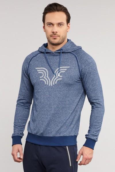BİLCEE - Bilcee Mavi Erkek Sweatshirt ES-3877