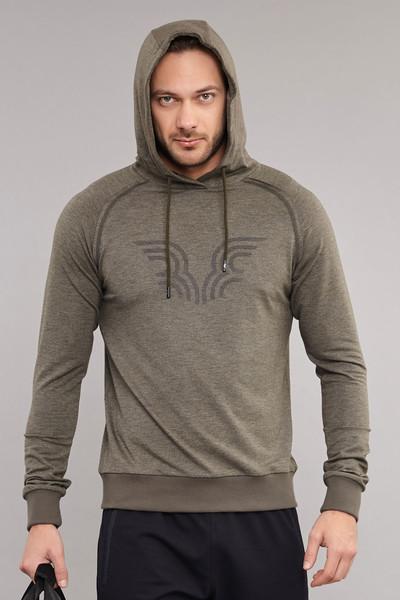 BİLCEE - Bilcee Kahverengi Erkek Sweatshirt ES-3877