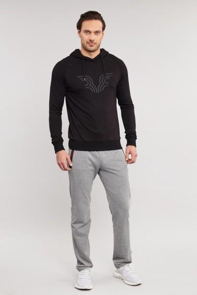 BİLCEE - Bilcee Siyah Erkek Sweatshirt ES-3877 (1)