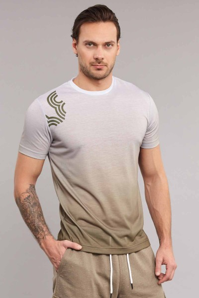 BİLCEE - Bilcee Pamuk/Poly Erkek T-Shirt ES-3883