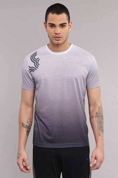 BİLCEE - Bilcee Antrasit Pamuk/Poly Erkek T-Shirt ES-3883