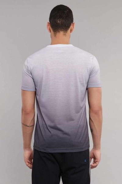BİLCEE - Bilcee Antrasit Pamuk/Poly Erkek T-Shirt ES-3883 (1)