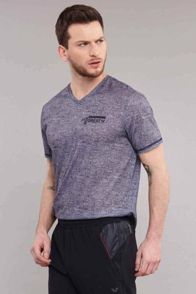 BİLCEE - Bilcee Erkek Antrenman T-Shirt ES-3894