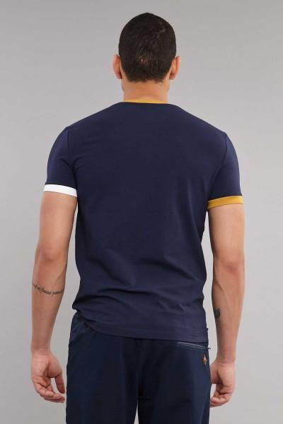 BİLCEE - Bilcee Likralı Pamuklu Erkek T-Shirt ES-4000 (1)