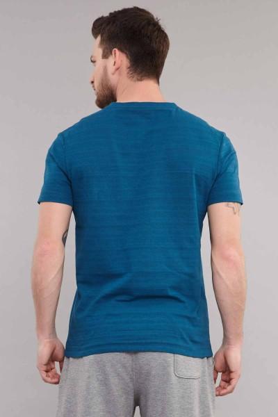 BİLCEE - Bilcee Mavi Pamuklu Erkek T-Shirt ES-4008 (1)