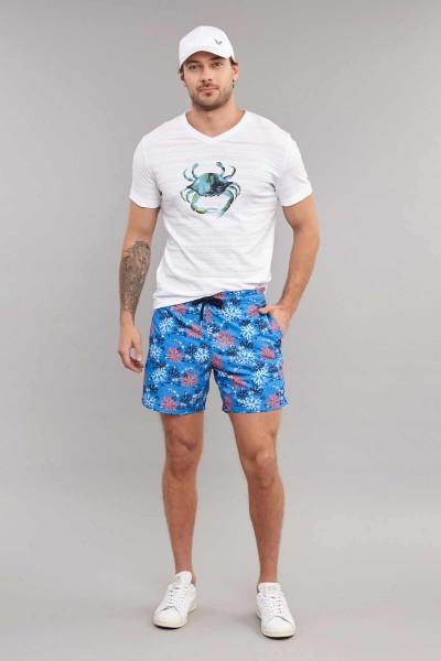 BİLCEE - Bilcee Beyaz Pamuklu Erkek T-Shirt ES-4008 (1)