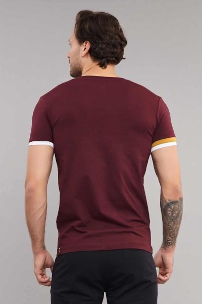 BİLCEE - Bilcee Erkek Likralı Pamuklu T-Shirt ES-4058 (1)