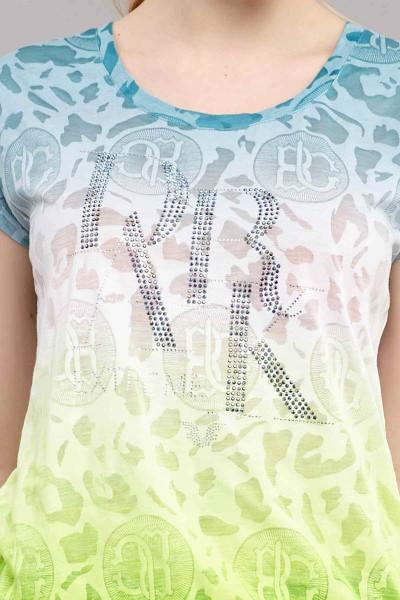 BİLCEE - Bilcee Kadın Pamuk/Poly T-Shirt ES-4222 (1)