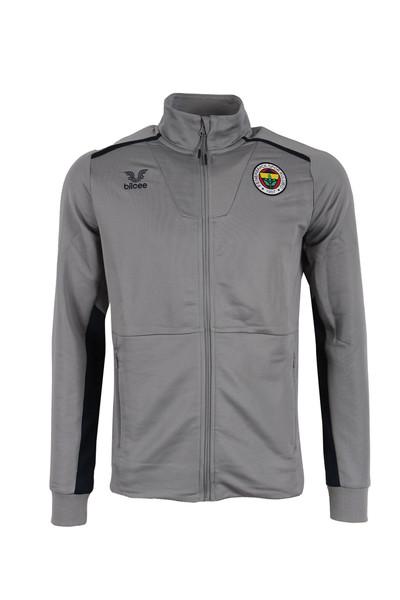 BİLCEE - Fenerbahçe Voleybol Gri Fermuarlı Sweatshirt FB-0025