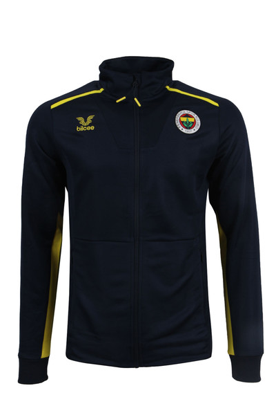 BİLCEE - Fenerbahçe Voleybol Lacivert Fermuarlı Sweatshirt FB-0025