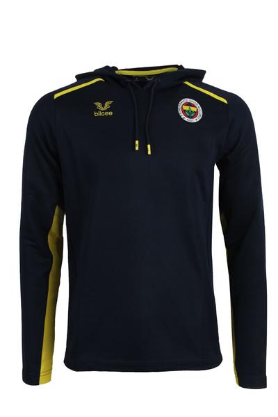 BİLCEE - Fenerbahçe Voleybol Lacivert Kapüşonlu Sweatshirt FB-0028