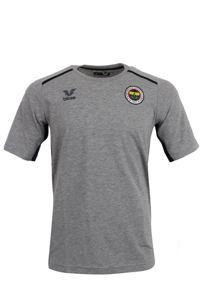 BİLCEE - Fenerbahçe Voleybol Gri Antrenman T-shirt FB-0032