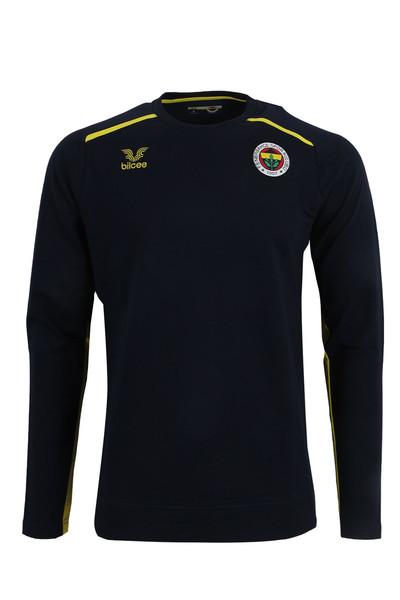 BİLCEE - Fenerbahçe Voleybol Lacivert Basic Sweatshirt FB-0034