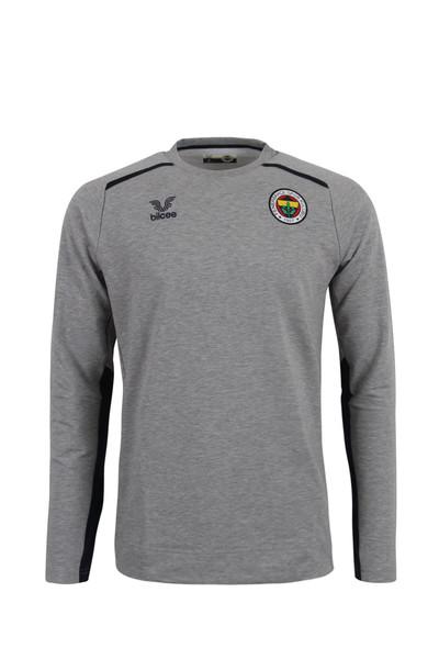 BİLCEE - Fenerbahçe Voleybol Gri Basic Sweatshirt FB-0034