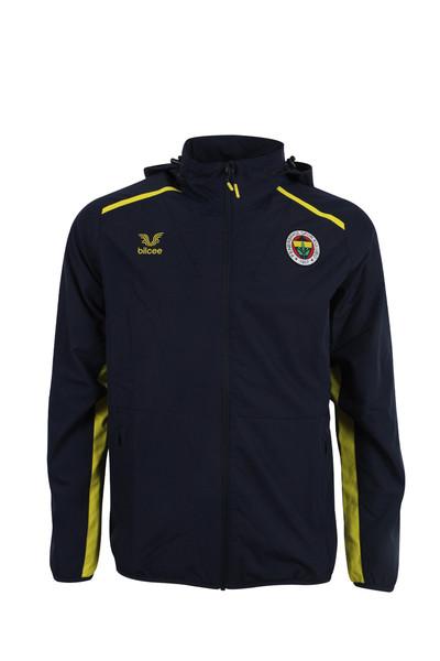 BİLCEE - Fenerbahçe Voleybol Lacivert Kapüşonlu Rüzgarlık FB-0035