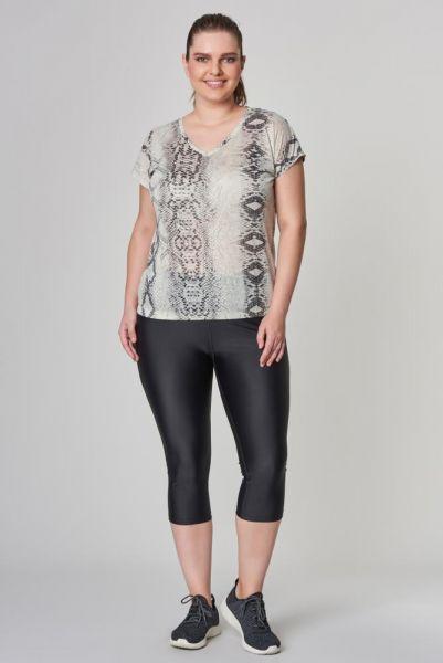 BİLCEE - Bilcee Büyük Beden Kadın T-Shirt CW-9103 (1)