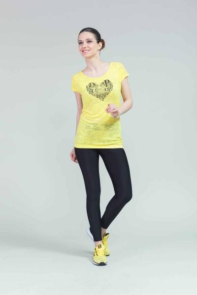 BİLCEE - Bilcee Pamuklu Kadın T-Shirt CW-9105 (1)