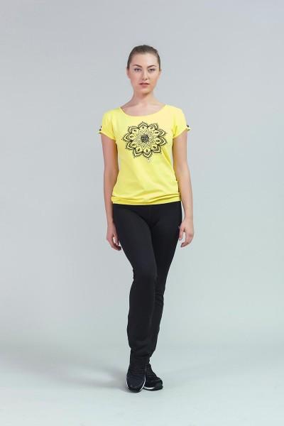 BİLCEE - Bilcee Pamuklu Kadın T-Shirt CW-9106 (1)