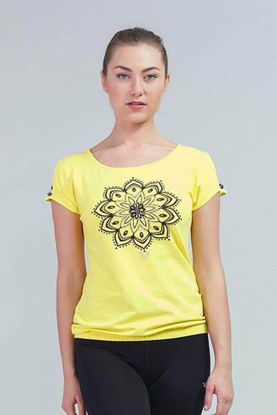 BİLCEE - Bilcee Pamuklu Kadın T-Shirt CW-9106