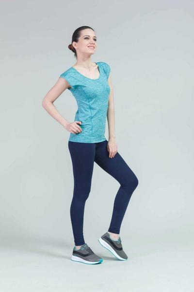 BİLCEE - Bilcee Kadın Antrenman T-Shirt CW-9107 (1)