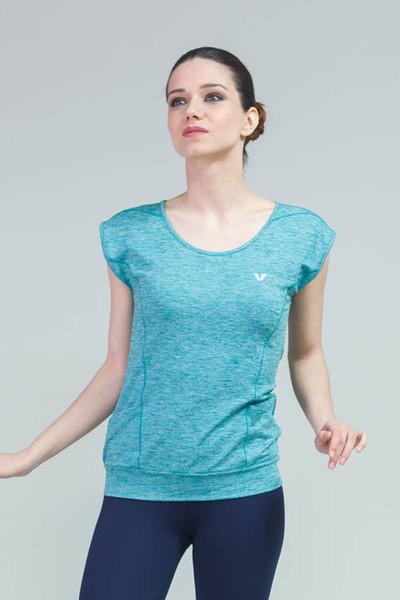 BİLCEE - Bilcee Kadın Antrenman T-Shirt CW-9107