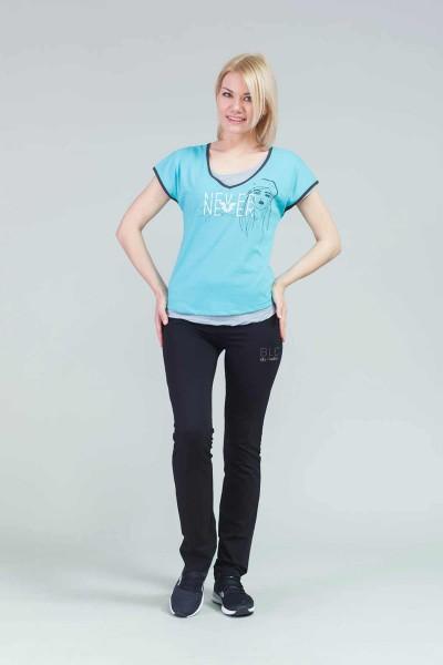 BİLCEE - Bilcee Kadın Antrenman T-Shirt CW-9114 (1)